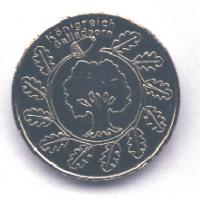 Große Silbermünze Rückseite