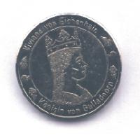 Große Silbermünze Forderseite